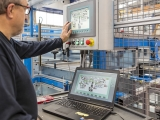 Producción Zona Robótica Cuadro Electrico en Grupo Lauco