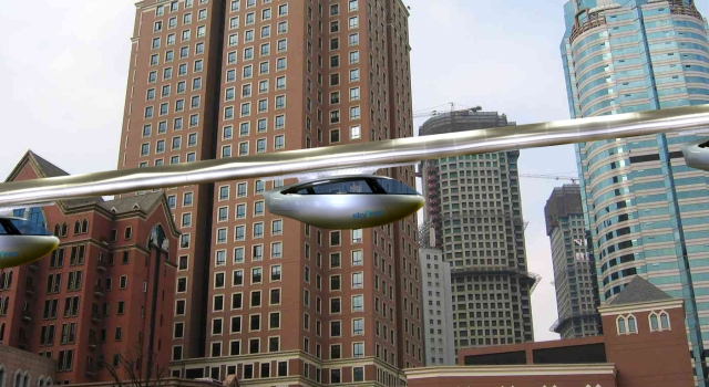 skytran, futuro del transporte