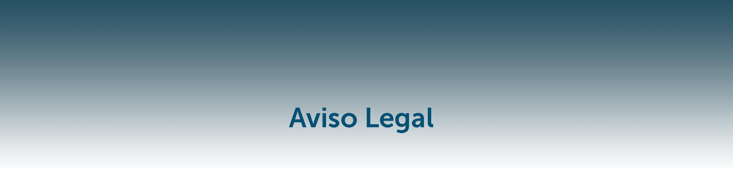 Aviso Legal – Protección de datos